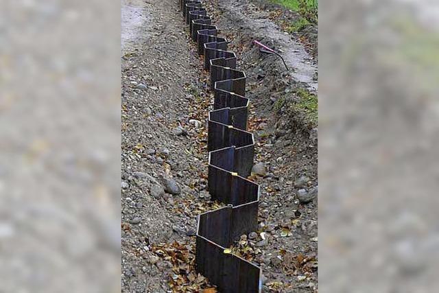 Flutmulden-Pläne in Bad Krozingen auf Eis gelegt