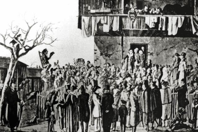 Baronin sorgt mit ihren Predigten für Aufruhr