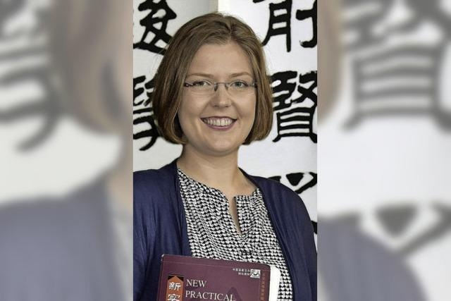 """Jorinde Wiese: """"Chinesisch ist meine Geheimsprache"""""""
