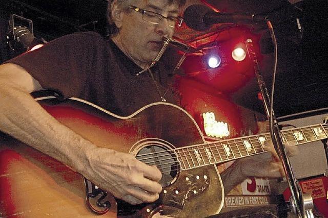 Singer-Songwriter Jeff Stephenson spielt im Rathauscafé