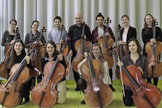 Cello-Ensemble der Hochschule für Musik Genf konzertiert in Rheinfelden