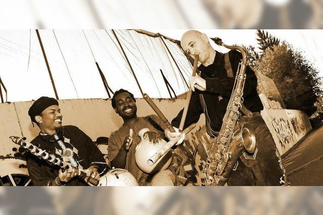Urban Nomades sorgt für afrikanische Klänge in St. Märgen