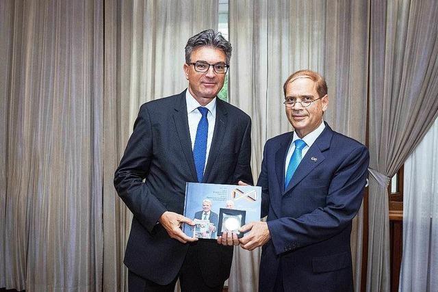 Israelischer Botschafter würdigt Freiburgs Kulturprogramm zum Jubiläumsjahr