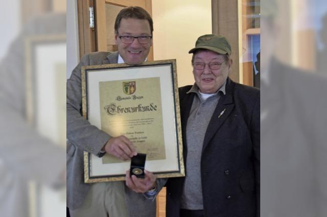 Hohe Auszeichnung für Leni Franken