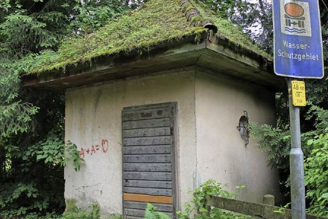 Wasserhaus wird zu kleinem Denkmal