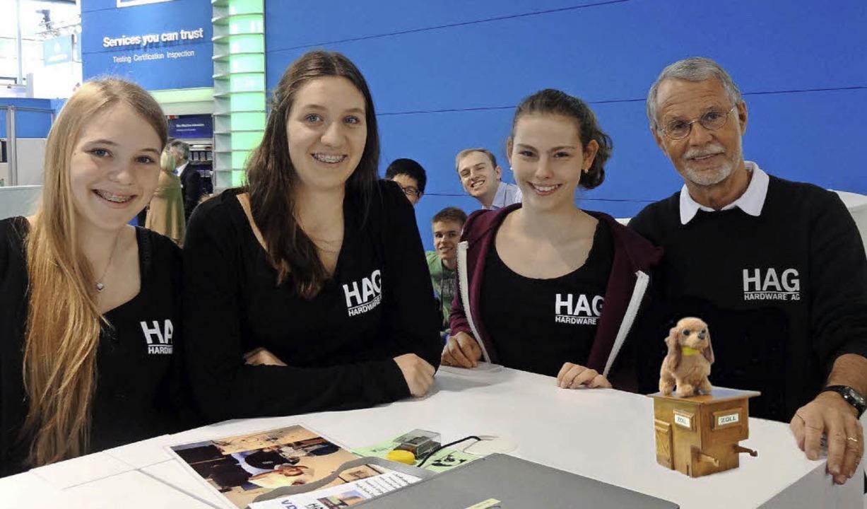 <BZ-FotoAnlauf>Die HAG </BZ-FotoAnlauf...nn, Daria Hottmann und  Winfried Sturm  | Foto: privat