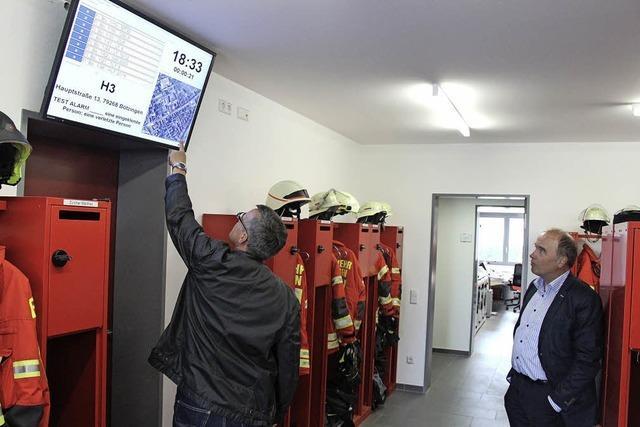 Feuerwehr hat Grund zum Feiern