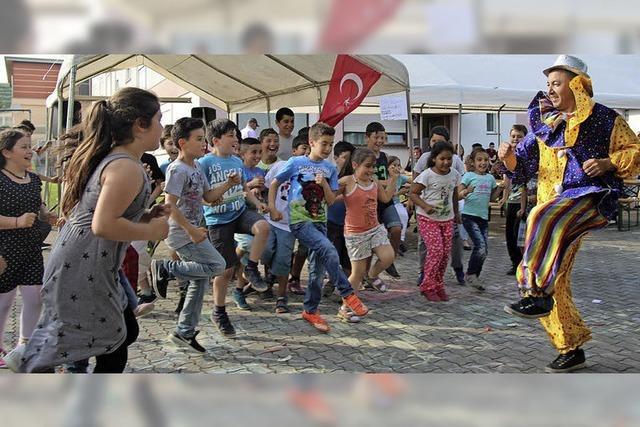 Volksfeststimmung bei der türkischen Kermes