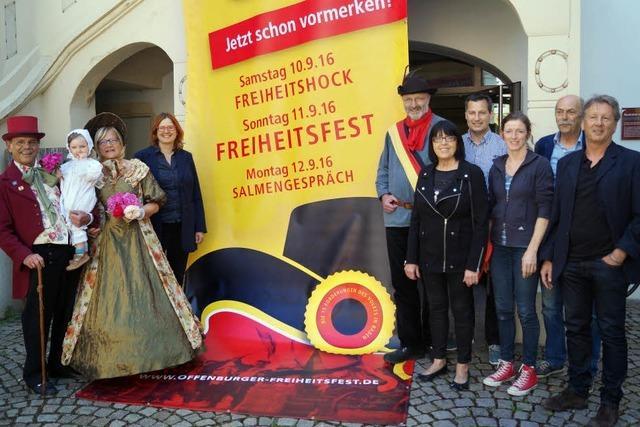 Offenburg feiert drei Tage die Freiheit
