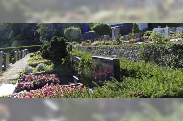 Einheitliche Gebühren für Friedhöfe