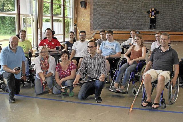 Am eigenen Leib erfahren, was es bedeutet, im Rollstuhl zu sitzen