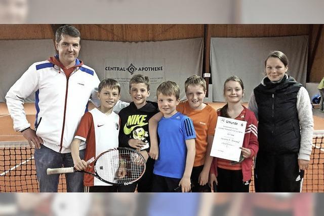 Tennisjugend erfolgreich
