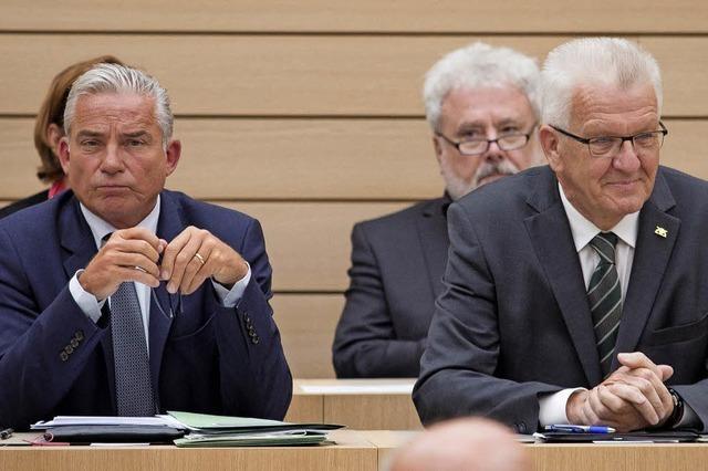 Opposition unzufrieden mit Kretschmanns Regierungserklärung