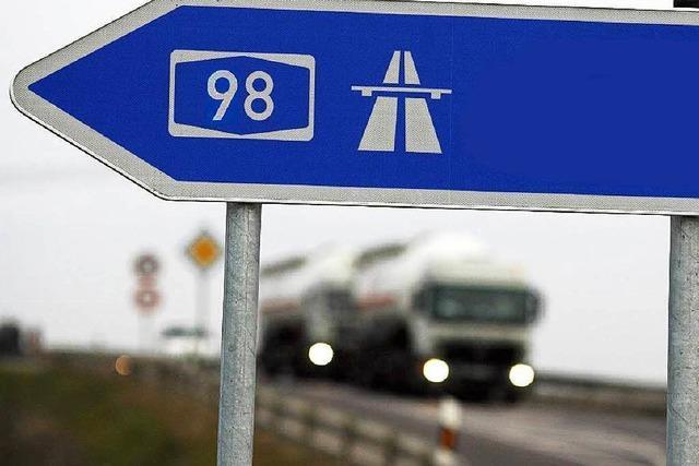 RP plant Autobahn von Rheinfelden bis Waldshut-Tiengen