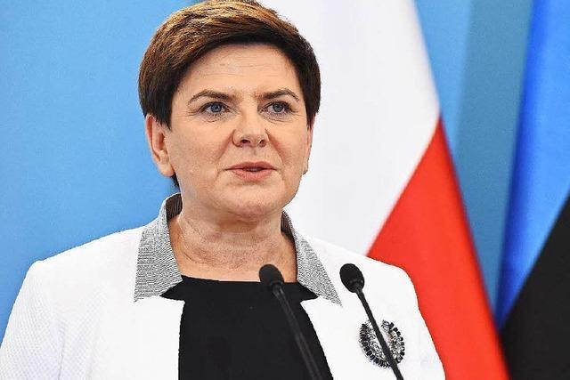 EU-Kommission setzt Polens Regierung unter Druck