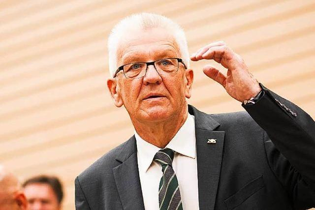 Regierungserklärung: Kretschmann fordert Gründergeist