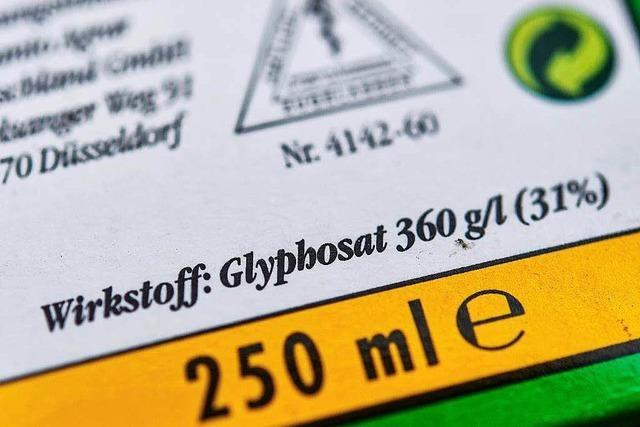 Glyphosat soll vorübergehend erlaubt werden