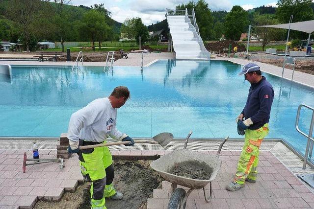 Neues Freibad in Schönau öffnet am Wochenende