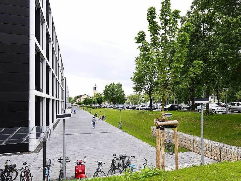 An diesem Standort im Freiburger Weste... Forschungsinstitut Imitate entstehen.  | Foto: Schneider