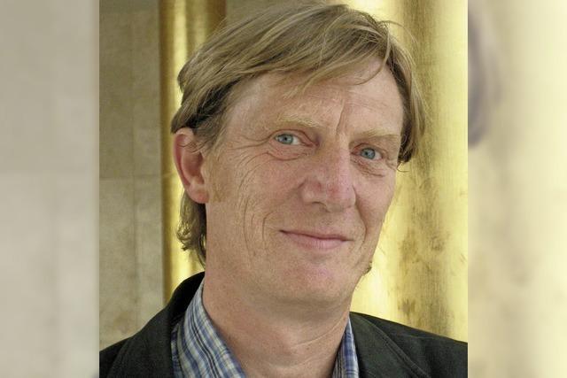 Hörspiel-Chefdramaturg des SWR Manfred Hess mit