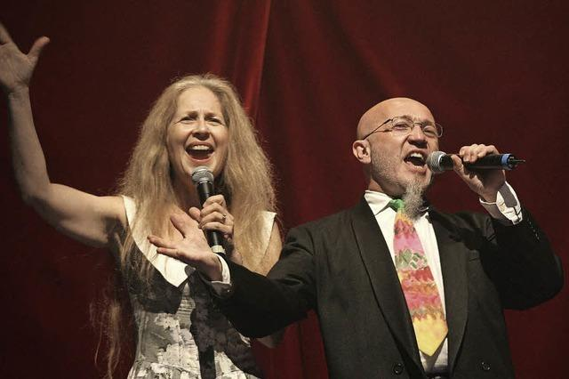Liselotte Hamm und Jean-Marie Hummel (La Manivelle) in Riegel