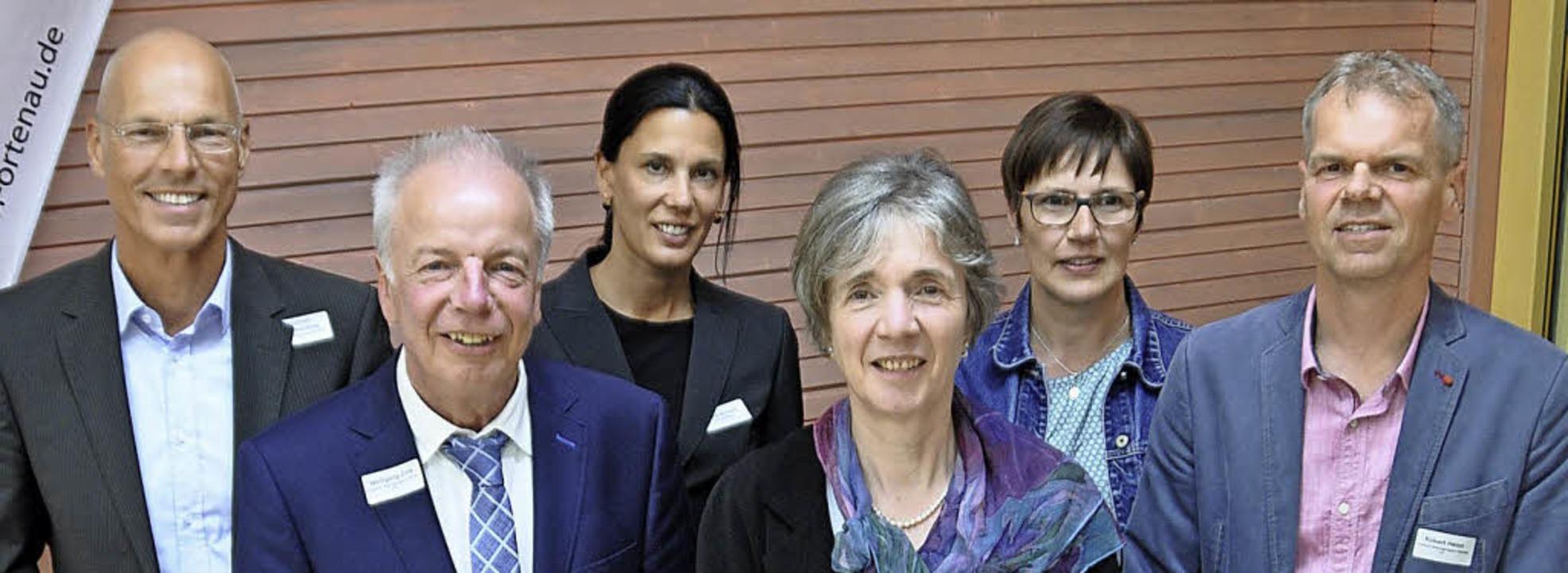 Der neu gewählte Vorstand der Bildungs...achschule Sozialpädagogik Gengenbach)   | Foto: Fotos: Bro