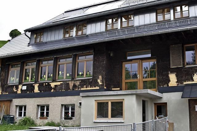 Geschecktes Bürgerhaus