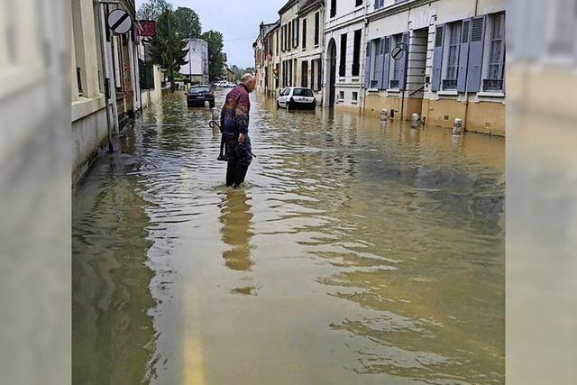 Partnerstadt Coulommiers ist vom Hochwasser betroffen