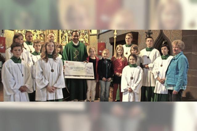 7530 Euro für bedürftige Kinder