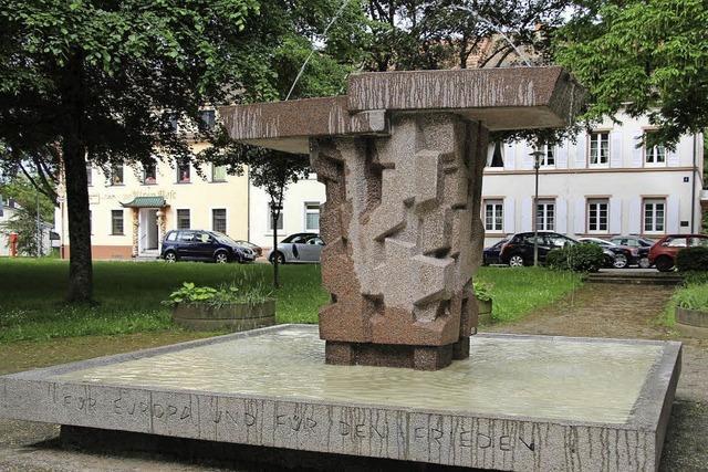 Aus dem Kaiserdenkmal wurde ein Friedenssymbol