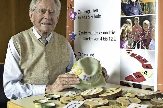 Gerhard Preiß ist Didaktiker und will Kinder für Zahlen begeistern