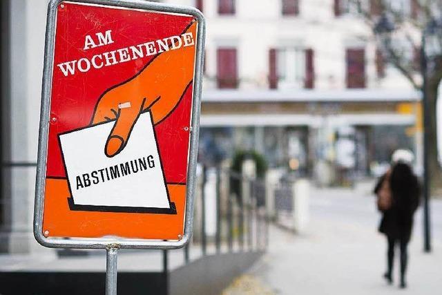 Asylverfahren: Schweiz stimmt über Beschleunigung ab