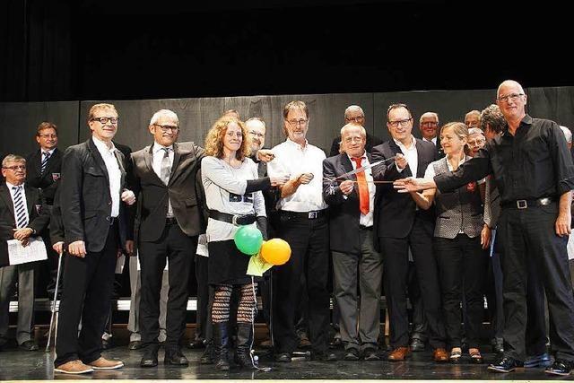 Festakt mit Unwetter: Neues Vereins- und Jugendzentrum in Heitersheim eingeweiht