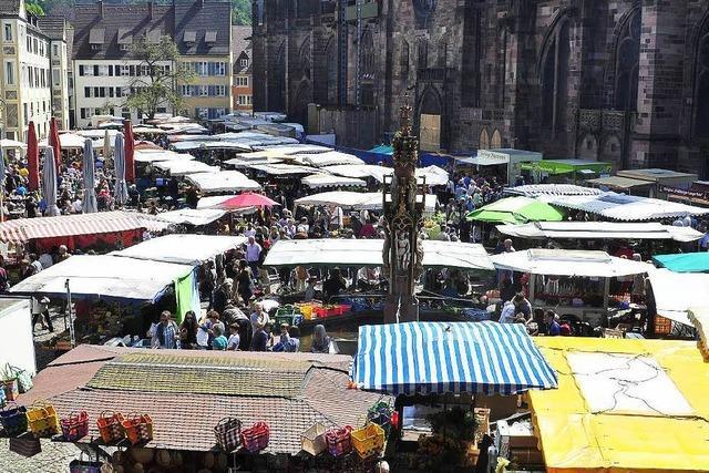 Brandschutz: Münstermarkt-Stände müssen rücken