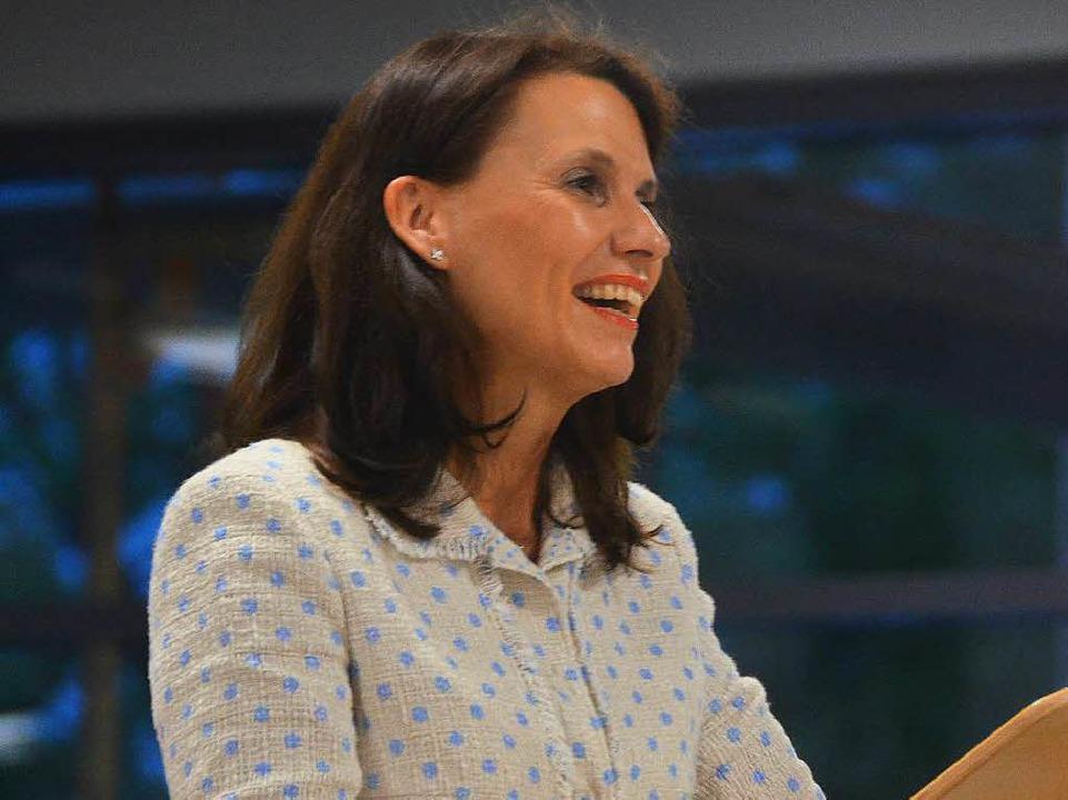Schirmherrin Rita Schwarzelühr-Sutter  | Foto: Juliane Kühnemund