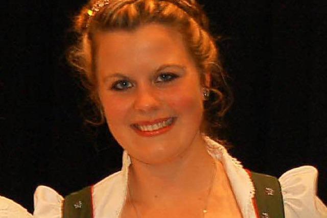 Die erste Milchkönigin des Landes kommt aus Buchenbach