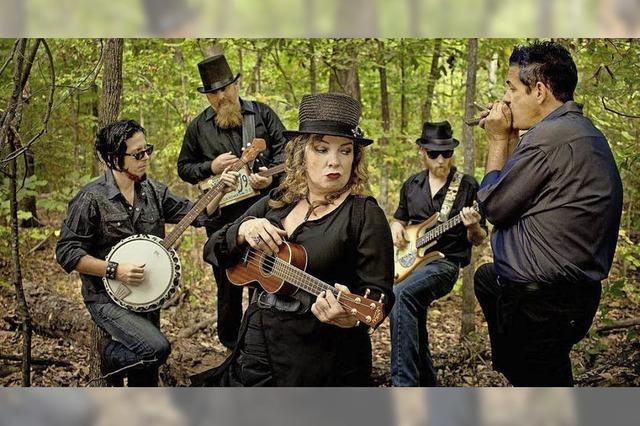 Die Band Mississippi Bigfoot in Heitersheim