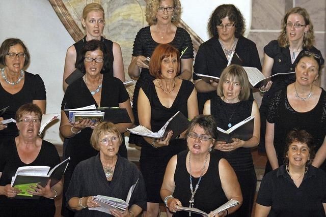 Chor Gospel Generation singt in der evangelischen Kirche