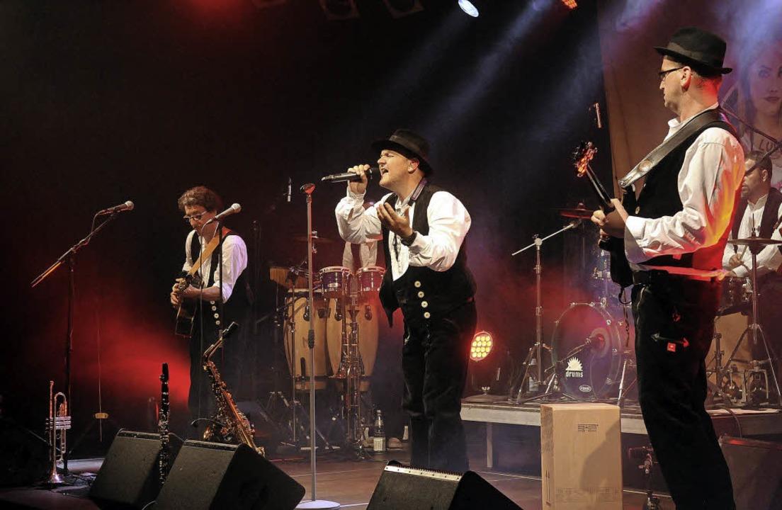 Die Band Luddi eröffnete im Schlachthof die Lahrer Literaturtage.   | Foto: Wolfgang Künstle