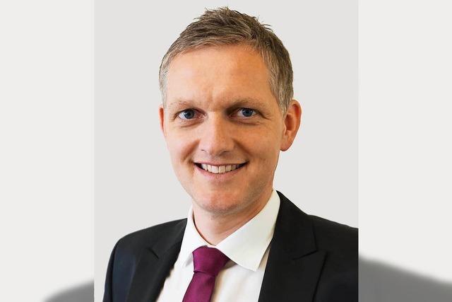 Ferdinand Burger ist neuer Bürgermeister von Wyhl