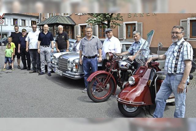 Oldtimer Rallye im Elztal
