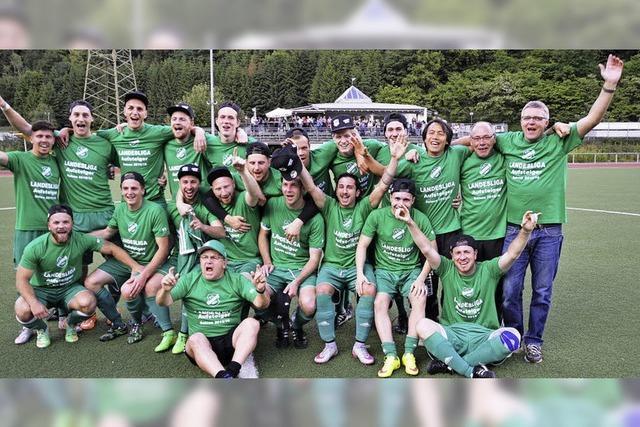 FC Zell feiert Meisterschaft und Aufstieg in die Landesliga