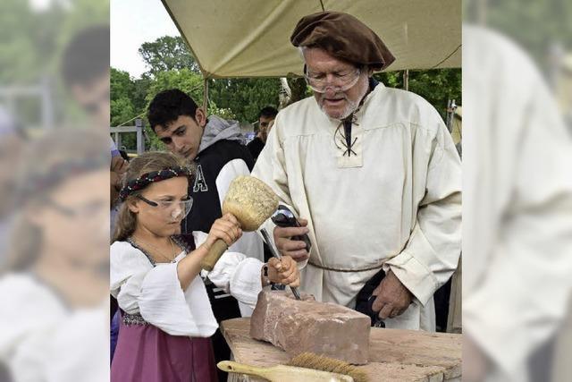 Das Mittelalterfest am Mundenhof ist ein Ausflug in eine andere Zeit