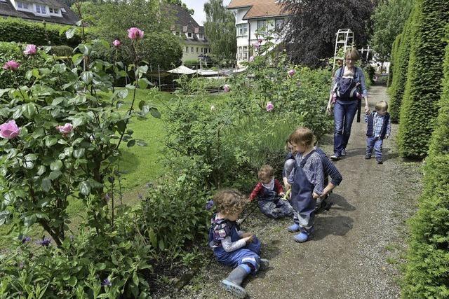 Beim Tag der offenen Gärten in Freiburg öffneten 13 Gartenbesitzer ihre Gartentore