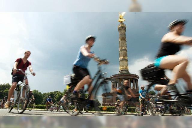 Radeln für die Fahrradstadt