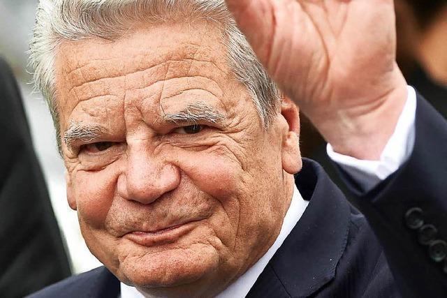 Ab sofort wird intensiv über die Gauck-Nachfolge spekuliert