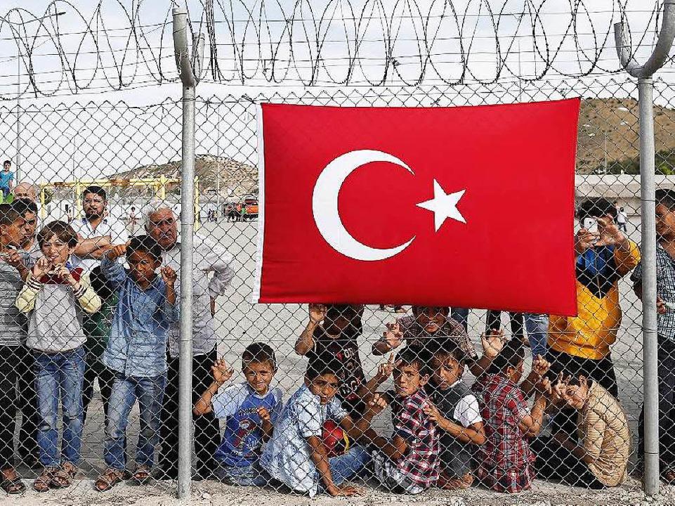 Syrische Flüchtlingskinder in der Türkei  | Foto: dpa