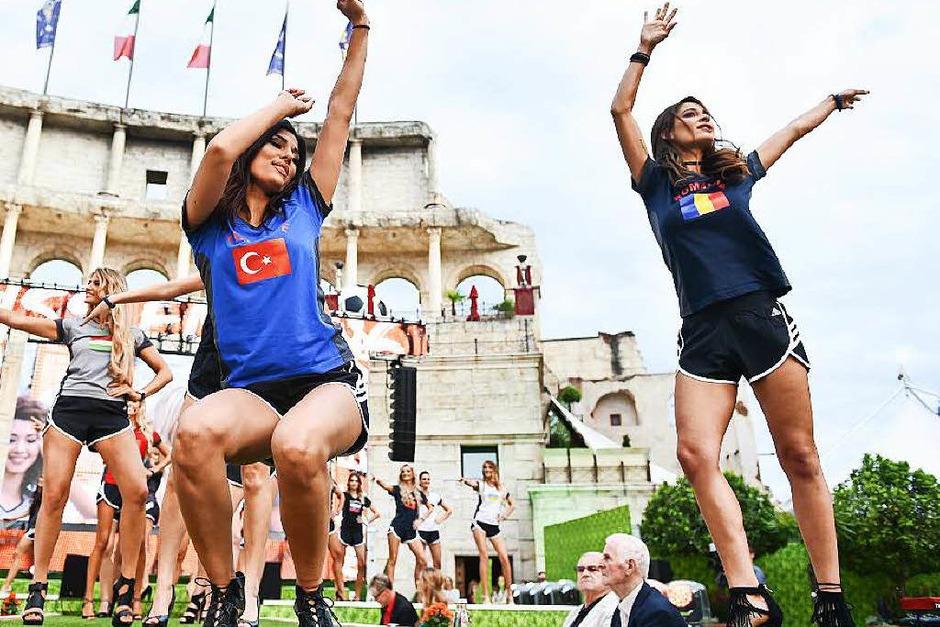 24 Frauen waren im Rennen um den Titel. (Foto: dpa)