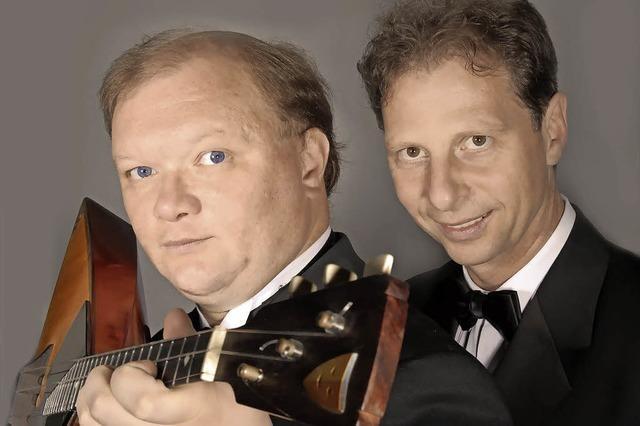 Andreij Gorbatschow und Lothar Freund in Emmendingen