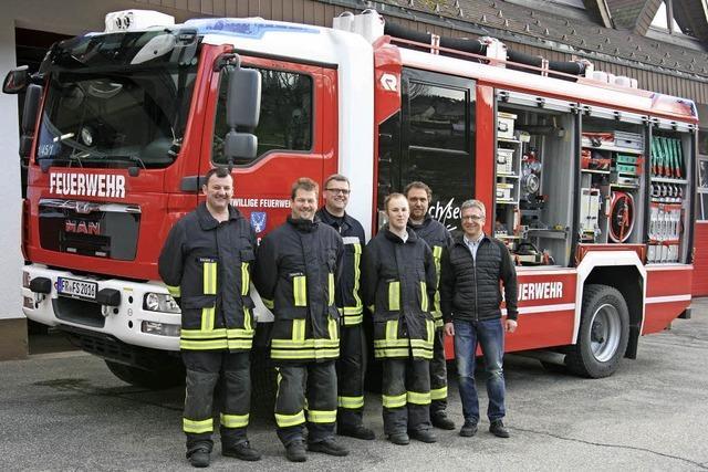 Vorführungen, Rundfahrten, Kinderprogramm rund um das Feuerwehrhaus in Schluchsee